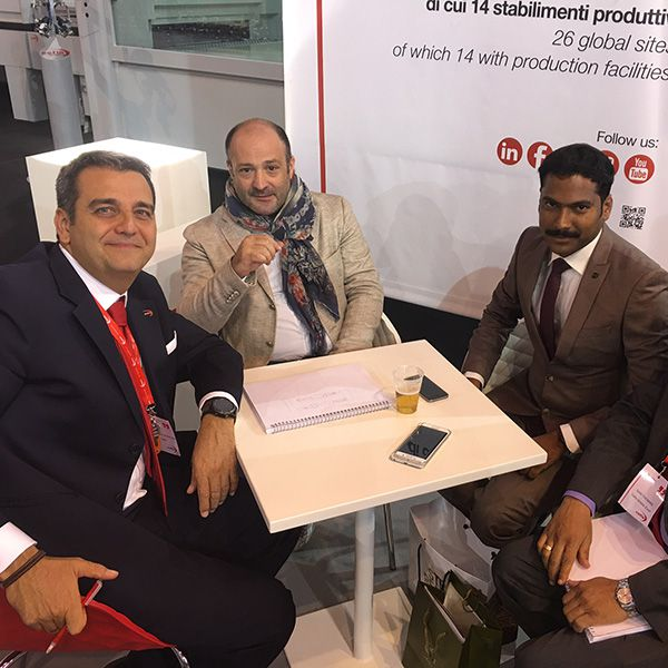 Al Mashrabia team attends XYLEXPO exhibition in Milan